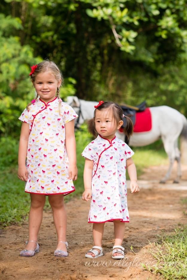 PAIR Pastel Horses 2