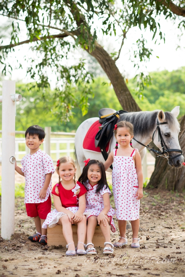 QUAD Red horses 1