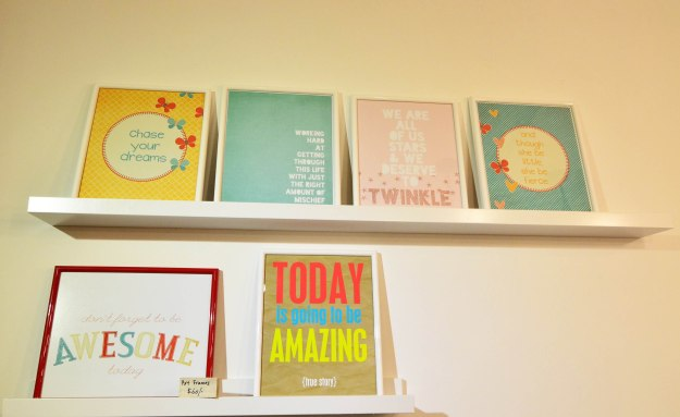 We have a new section for our inspirational art prints!