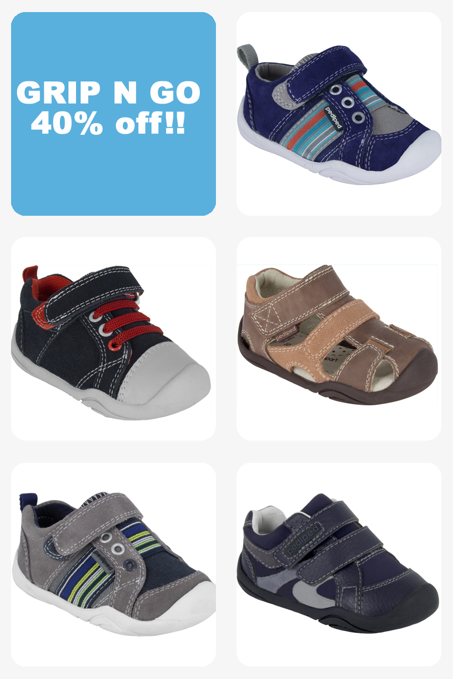 Sign up for new styles from pediped