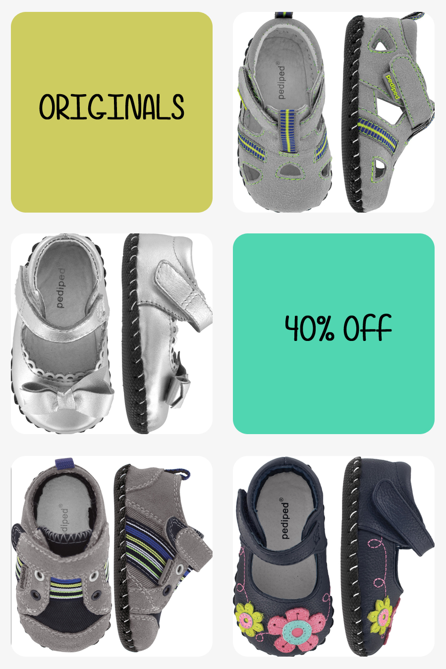 Pediped Shoe Clearance Sale at Elly