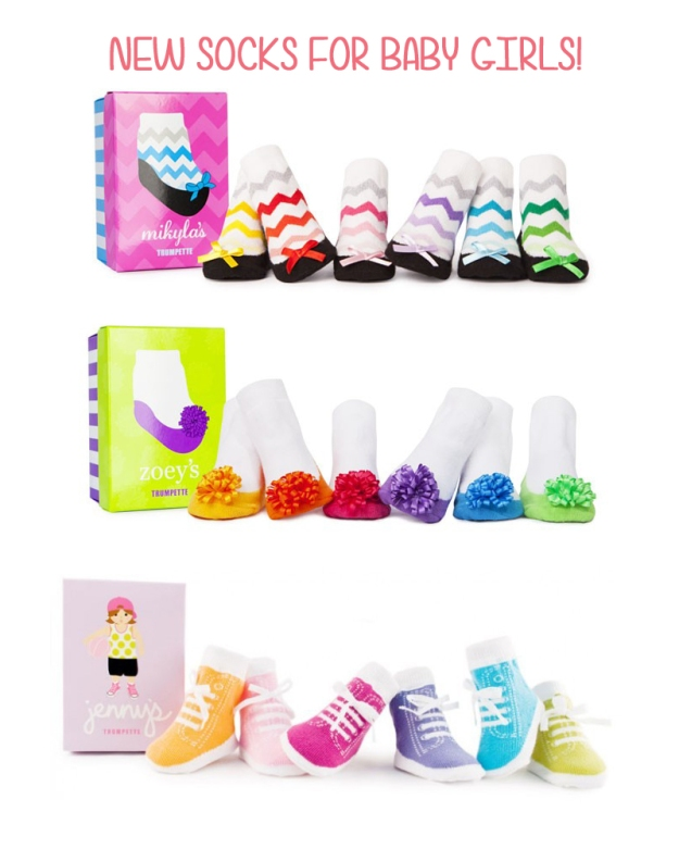 new socks for baby girls