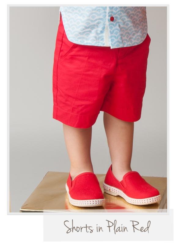 Shorts Plain Red