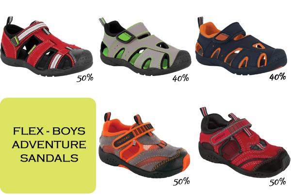 Flex adventure sandals