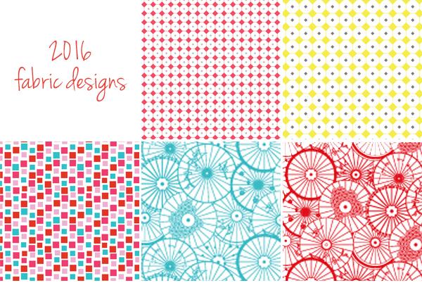 2016 fabric designs