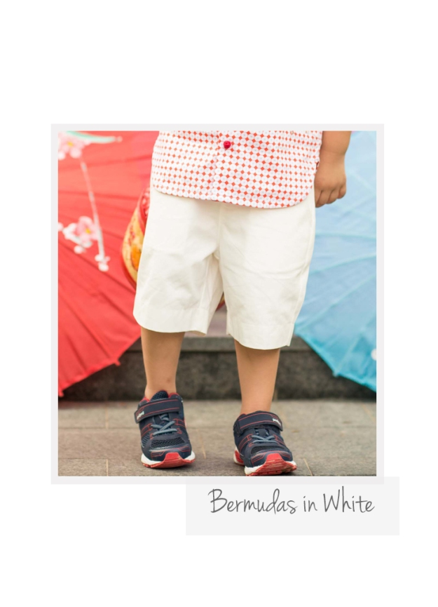 Bermuda in White