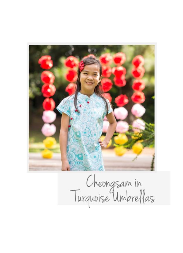 CS Turquoise Umbrellas