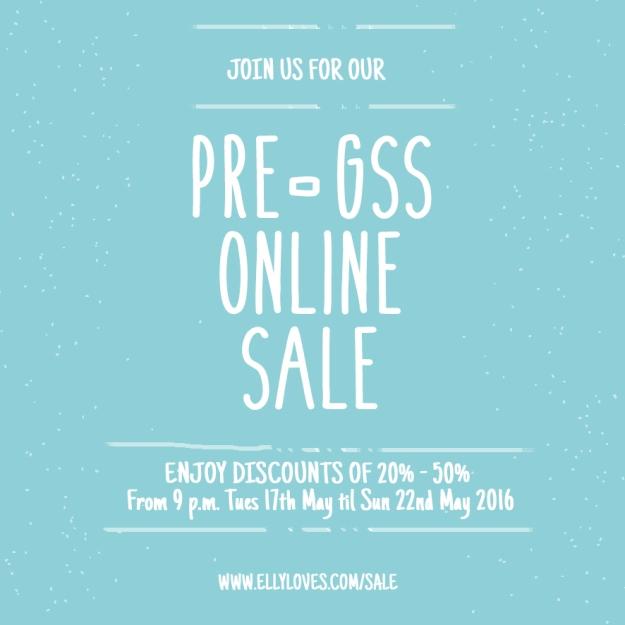 Pre GSS Online Sale 1