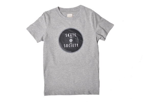 Skate Society Logo Grey Large