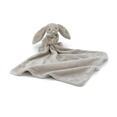Bashful beige bunny soother L