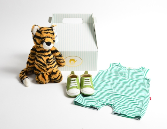 bashful tiger gift set LARGE